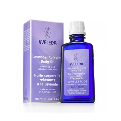 Weleda Расслабляющее масло с лавандой 100 мл (Уникальные природные масла)