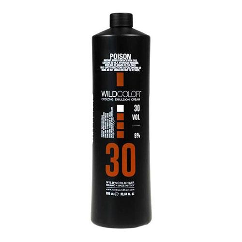 Wildcolor Крем-эмульсия окисляющая Oxidizing Emulsion Cream 9% OXI (30 Vol.), 995 мл (Wildcolor, Oxidizing Emulsion Cream) wildcolor крем эмульсия окисляющая oxidizing emulsion cream 9% 270 мл