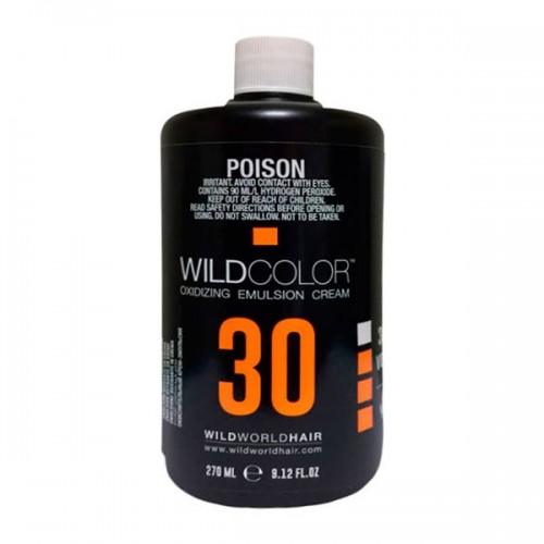 Wildcolor Крем-эмульсия окисляющая Oxidizing Emulsion Cream 9% OXI (30 Vol.), 270 мл (Wildcolor, Oxidizing Emulsion Cream) wildcolor крем эмульсия окисляющая oxidizing emulsion cream 9% 270 мл