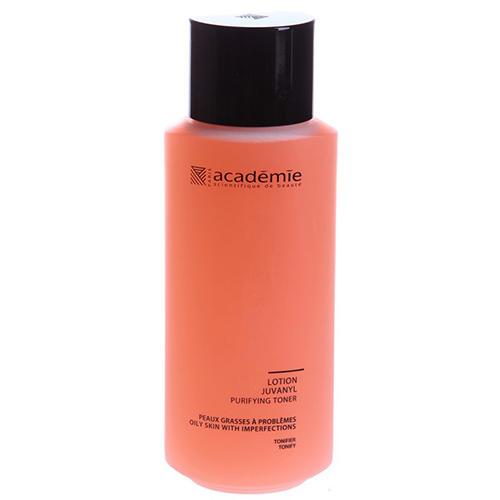 Очищающий лосьон Юванил, 250 мл (Academie, Academie Visage жирная кожа) нормализующий крем 50 мл academie academie visage жирная кожа