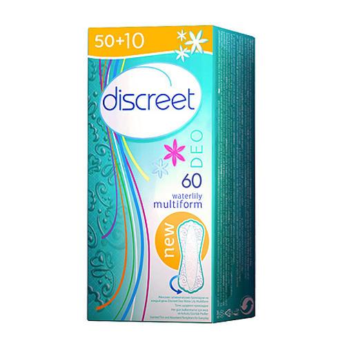 Дискрит, Женские гигиенические прокладки на каждый день Deo Water Lily Trio (, Discreet) недорого