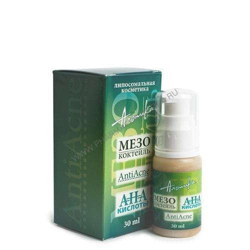 Альпика Мезококтейль с АНА кислотами Аnti Acne 30 мл (Anti Acne)
