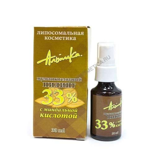 Альпика Мультикислотный пилинг с миндальной кислотой 33% 30 мл (Мультикислотные пилинги)