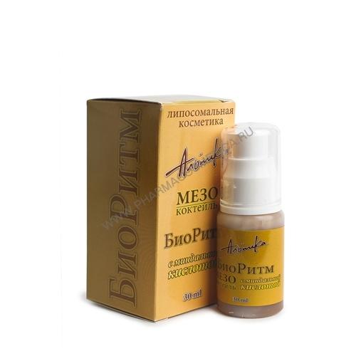 Мезококтейль  БиоРитм  30мл (Anti Age) - Пилинг - обновление кожи