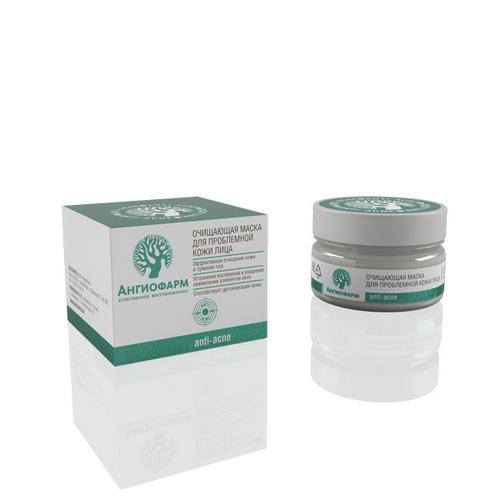 цена Очищающая маска для проблемной кожи лица 200 мл (Ангиофарм, Проблемная кожа) онлайн в 2017 году