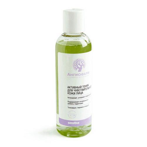 Активный тоник для чувствительной кожи лица 400 мл (Ангиофарм, Для чувствительной кожи) для здоровой кожи