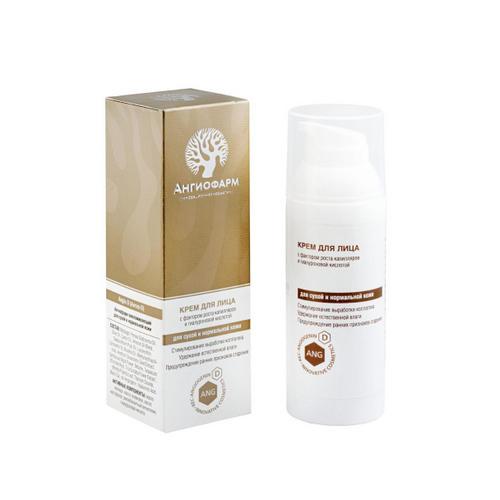 Ангиофарм Крем для сухой и нормальной кожи Angio-D 50 мл (Ангиофарм, Для лица)