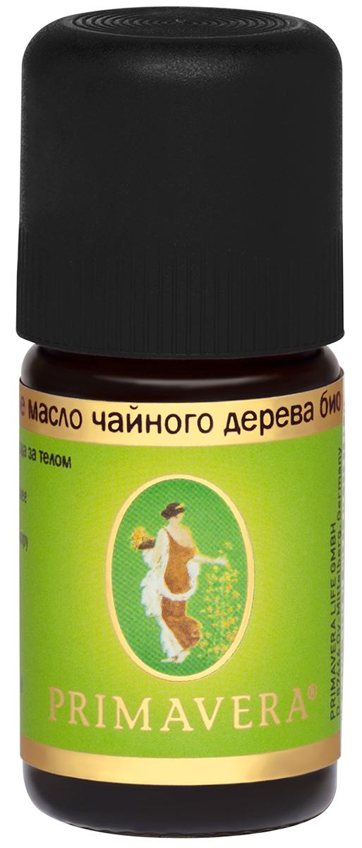 Primavera life Эфирное масло чайного дерева био 5мл (Primavera life, Для тела) фото