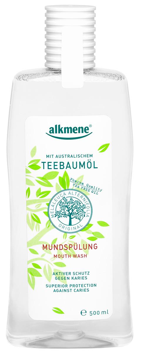 Alkmene Ополаскиватель для полости рта «ЧАЙНОЕ ДЕРЕВО» 500 мл (Alkmene, Уход за зубами)