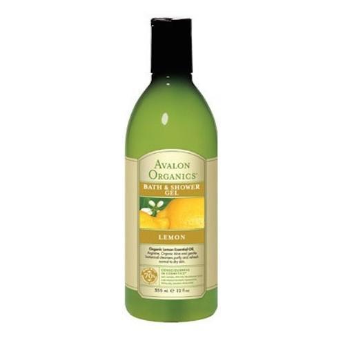 Гель для душа Лимон 355 мл (Bath & Shower) (Avalon Organic)