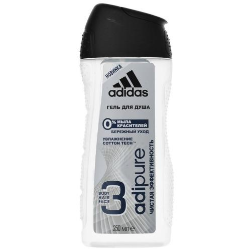 Adidas Гель для душа для мужчин, 250 мл (Adidas, Уход за телом) тайтсы adidas performance adidas performance ad094ewuog87