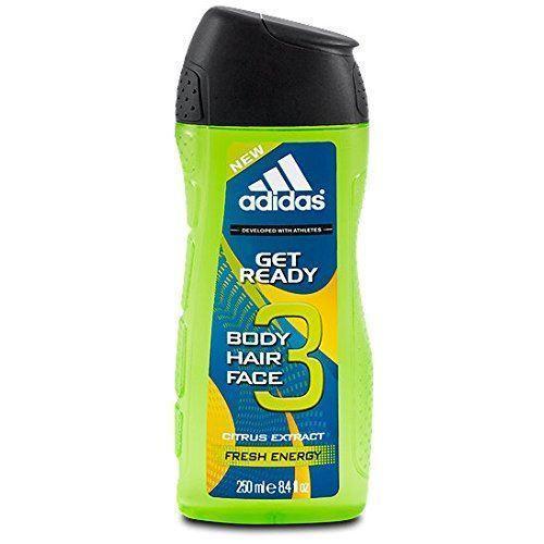 Adidas Гель для душа для мужчин, 250 мл (Adidas, Уход за телом) adidas гель для душа шампунь и гель для умывания body hair face after sport мужской 250 мл