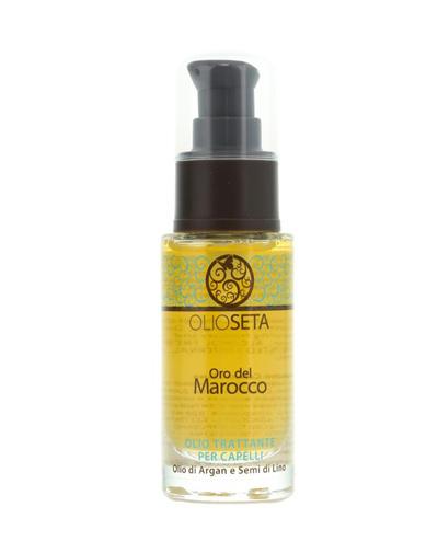 Купить Barex Масло-уход с маслом арганы и маслом семян льна Oil Treatment Hair 30 мл (Barex, Olioseta), Италия