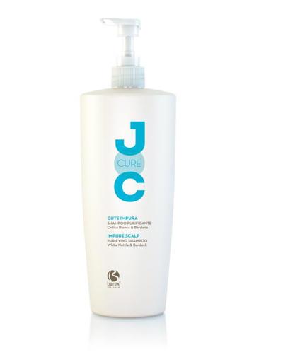 Barex Шампунь очищающий c экстрактом Белой крапивы Purifying Shampoo 1000 мл (Barex, JOC)