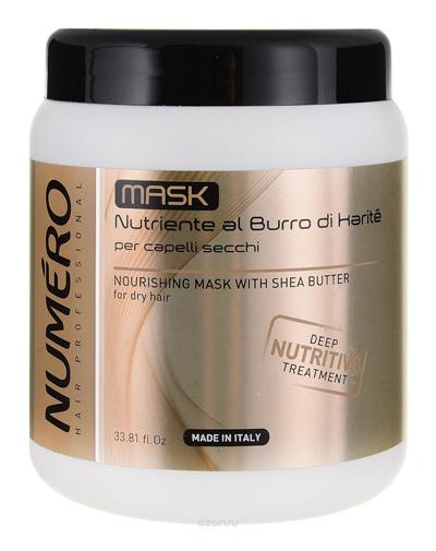 Brelil Professional Маска с маслом карите для сухих волос, 1000 мл (Brelil Professional, Numero) numero 00 толстовка