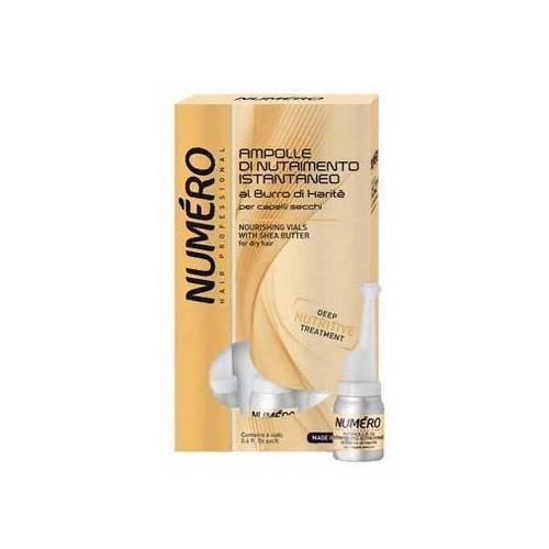 Brelil Professional Питательное средство с маслом карите для сухих волос в ампулах, 6х12 мл (Brelil Professional, Numero)