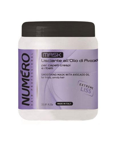 Купить Brelil Professional Маска разглаживающая с маслом авокадо для пушистых и непослушных волос 1000 мл (Brelil Professional, Numero), Италия