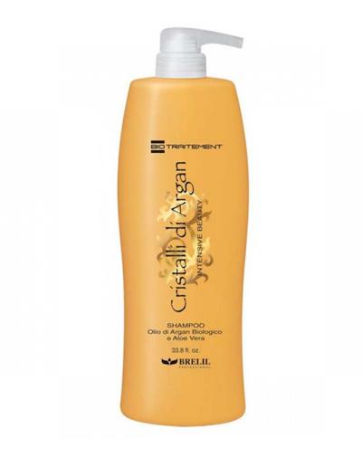 Купить Brelil Professional Шампунь для волос с маслом аргании и молочком алоэ, 1000 мл (Brelil Professional, Argan Oil Crystals), Италия
