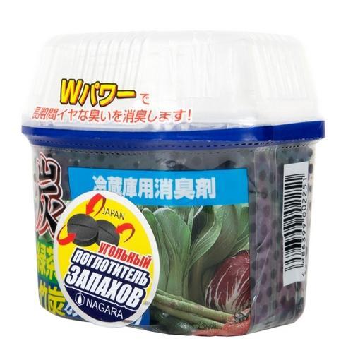 Древесный уголь для устранения запаха в холодильнике 180 г (Nagara, Освежители и поглотители запаха) цена