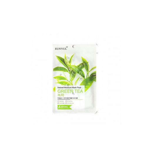 Тканевая маска для лица с экстрактом зеленого чая 1 шт (Eunyul, Для лица) маска д лица подтягивающая с коллагеном и экстрактом зеленого чая тканевая основ1шт 23мл 24шт sl 211