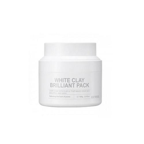 Очищающая маска для лица с белой глиной 100 мл (Eunyul, Для лица) медовея маска для лица очищающая с белой глиной 75 мл
