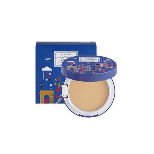 Eunyul Пудра компактная матирующая SPF 50/PA+++ (с запасным блоком) № 21, 10 мл (Eunyul, Для макияжа) пудра компактная разглаживающая spf 50pa с запасным блоком 21 10 мл eunyul для макияжа