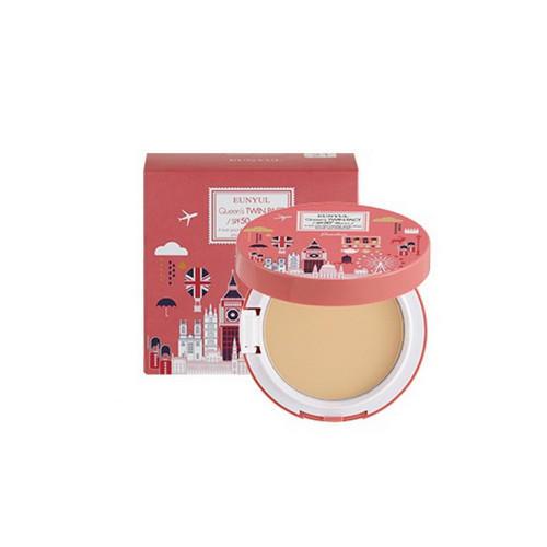 Пудра компактная разглаживающая SPF 50PA (с запасным блоком) 21, 10 мл (Eunyul, Для макияжа) пудра eunyul eunyul eu002lwcrpg1