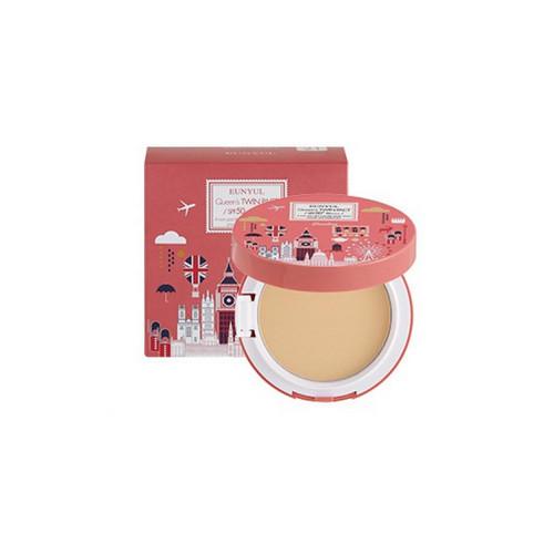 Пудра компактная разглаживающая SPF 50PA (с запасным блоком) 23, 10 мл (Eunyul, Для макияжа) пудра компактная разглаживающая spf 50pa с запасным блоком 21 10 мл eunyul для макияжа