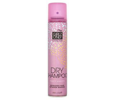 Сухой Шампунь Ночные Вечеринки 200 мл (Girlz Only, Dry shampoo) girlz only сухой шампунь с цветочным ароматом party nights 200 мл