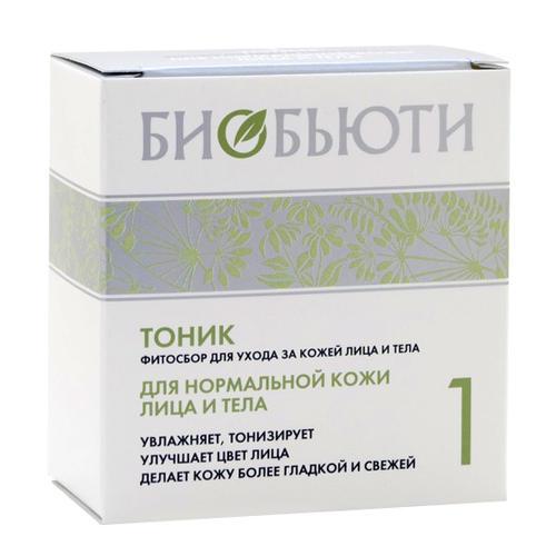 Тоник 1 для нормальной кожи лица и тела 15 г (Биобьюти, Для лица) маска для лица биобьюти биобьюти bi021lwujs37