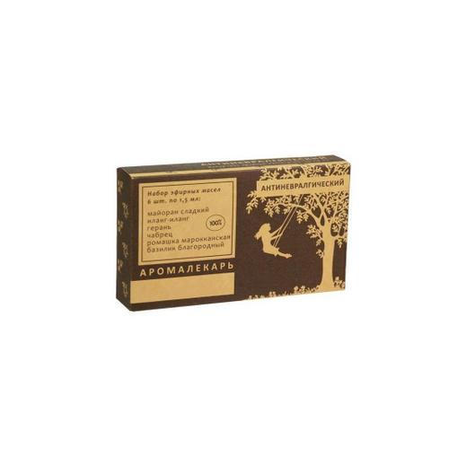 Набор 100 эфирных масел Антиневралгический, 1 шт (, Эфирные масла)
