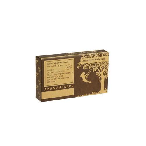 Набор 100 эфирных масел Антисептический, 1 шт (, Эфирные масла)