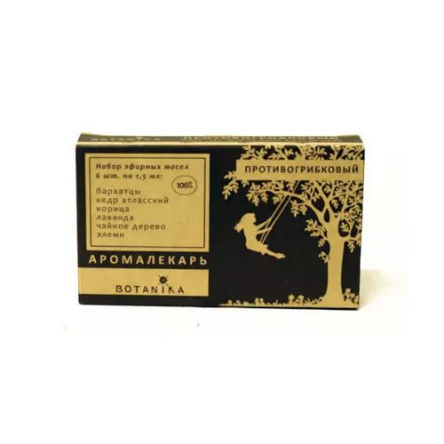 Набор 100 эфирных масел Противогрибковый, 1 шт (, Эфирные масла)