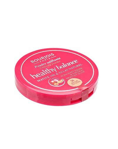 Компактная выравнивающая пудра Healthy Balance Ж Товар 56 тон hale clair (Bourjois, Healthy balance)