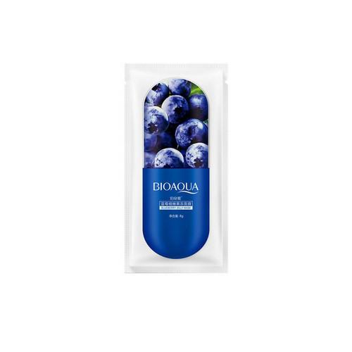 Ночная маска для лица Blueberry Jelly Mask 8 грамм (Bioaqua, Маски)