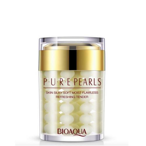 Увлажняющий крем с натуральной жемчужной пудрой Pure Pearls 60 грамм (Серия Pure Pearls)