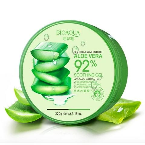 Увлажняющий гель с натуральным соком Aloe Vera 220 грамм (Bioaqua, Серия Aloe Vera) plitex aloe vera soft