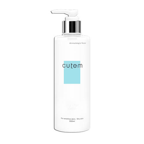 Очищающий гель для лица и тела для сухой и чувствительной кожи Daily Wash Face body, 300 мл (Cutem, Для лица) биодерма для тела и лица