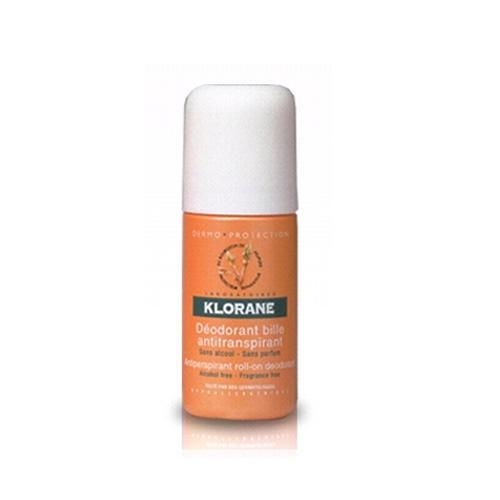 Регулирующий шариковый дезодорант 40мл (Klorane, Dermoprotection) где купить шампунь klorane
