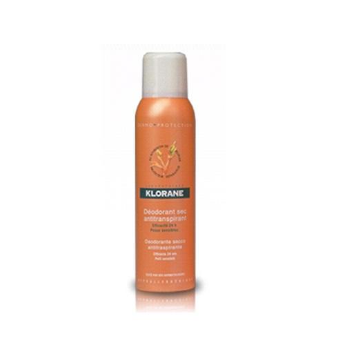 Сухой регулирующий дезодорантспрей 150мл (Klorane, Dermoprotection) где купить шампунь klorane