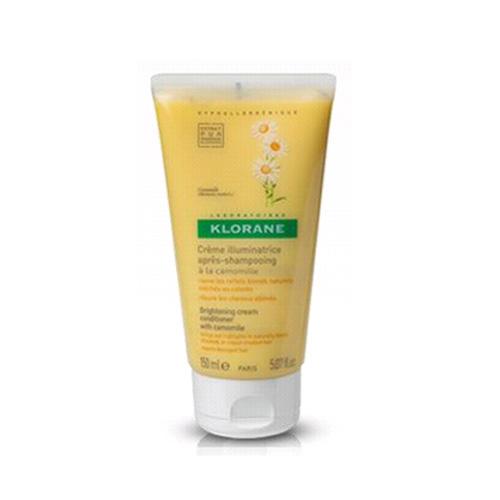 Оттеночный кремблеск с экстрактом ромашки для светлых волос 150мл (Klorane, Blond hair) где купить шампунь klorane