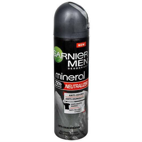Нейтрализатор Дезодорант спрей для мужчин 150 мл (Garnier, Дезодоранты для мужчин) дезодоранты виши для мужчин