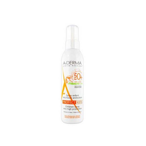 A-Derma Cолнцезащитный спрей для детей SPF50+ 200 мл (A-Derma, Protect)