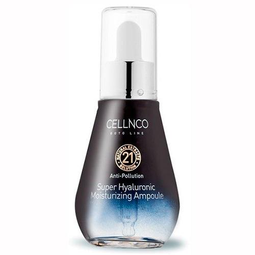 Cellnco Сыворотка с гиалуроновой кислотой Cellnco Boto Line Super Hyaluronic Moisturizing Ampoule, 50 мл (Cellnco, Boto line)