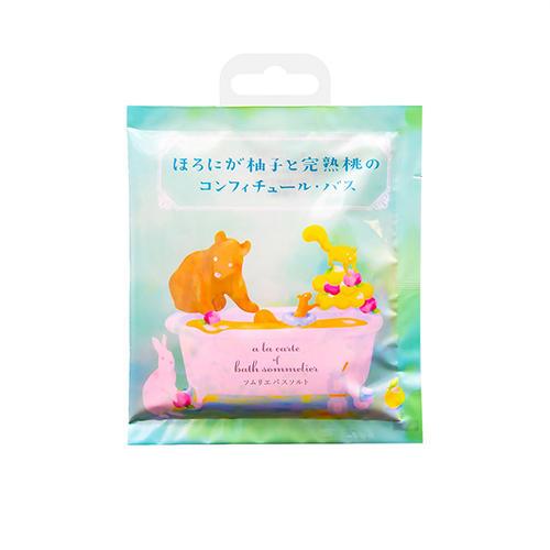 Charley Соль для ванн расслабляющая с экстрактом персика, 40 г (Charley, Sommelier) фото