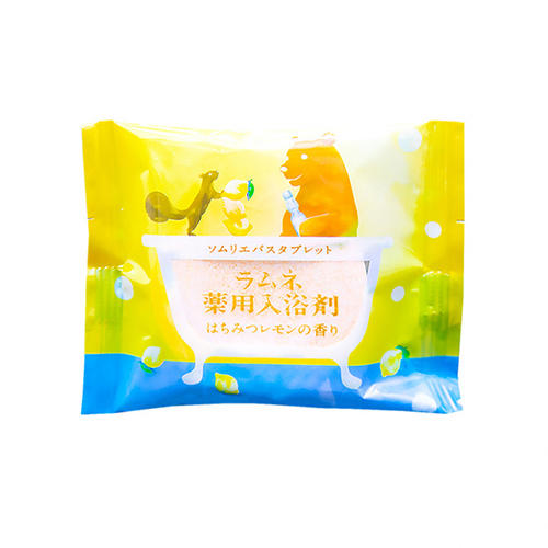 Charley Соль-таблетка для ванн расслабляющая с ароматом меда и лимона, 40 г (Charley, Sommelier)