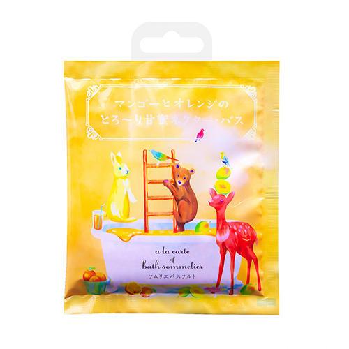 Charley Соль для ванн расслабляющая с экстрактом манго и апельсином, 40 г (Charley, Sommelier)