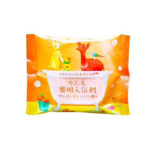 Charley Соль-таблетка для ванн расслабляющая с ароматом манго и апельсина, 40 г (Charley, Sommelier)