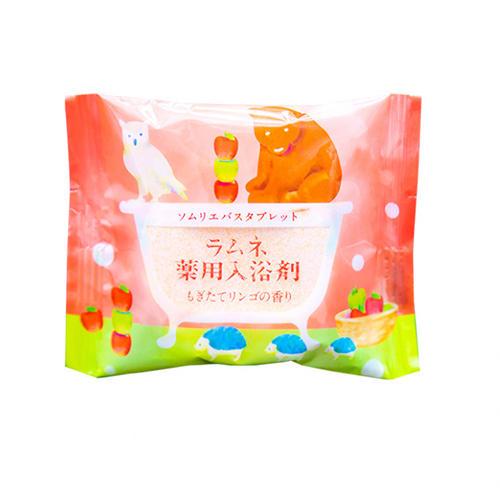 Charley Соль-таблетка для ванн расслабляющая с ароматом свежих яблок, 40 г (Charley, Sommelier) фото