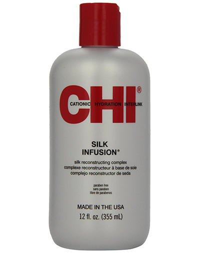 Chi Гель восстанавливающий Шелковая Инфузия 355 мл (Chi, Infra) chi infra shine infusion спрей блеск чи инфра 150 гр